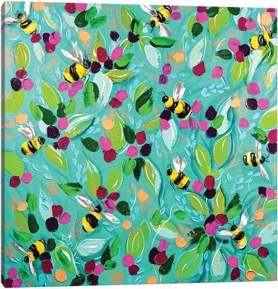 Bumbles Canvas Art Print