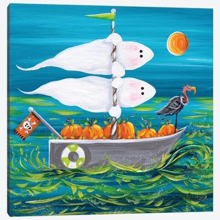Spooky Sails Canvas Print #ESG69} by Estelle Grengs Canvas Print
