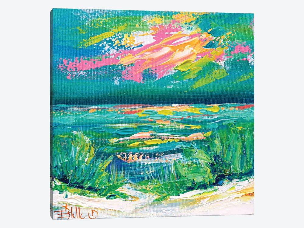 Colorful Coast by Estelle Grengs 1-piece Canvas Artwork