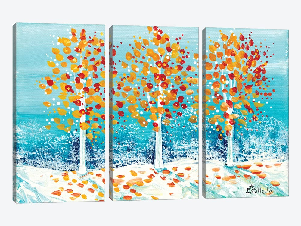 Early Winter by Estelle Grengs 3-piece Canvas Wall Art