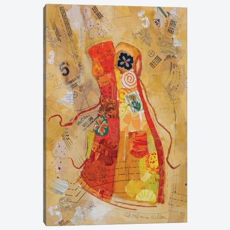 Dress Whimsy II Canvas Print #ESH12} by Elizabeth St. Hilaire Canvas Art Print