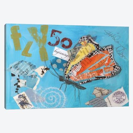 Fly I Canvas Print #ESH18} by Elizabeth St. Hilaire Canvas Art Print
