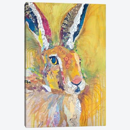 Harriet The Hare Canvas Print #ESH21} by Elizabeth St. Hilaire Canvas Art