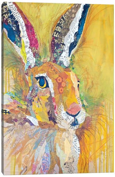 Harriet The Hare Canvas Art Print