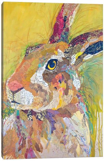 Harvey The Hare Canvas Art Print