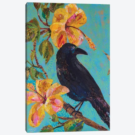 Hawaiian Bird I Canvas Print #ESH23} by Elizabeth St. Hilaire Canvas Artwork