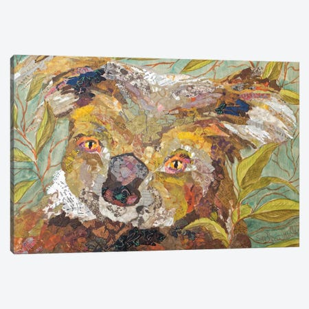 Koala Collage II Canvas Print #ESH29} by Elizabeth St. Hilaire Canvas Wall Art