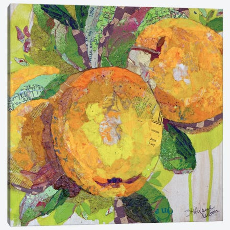 Nature's Gold Canvas Print #ESH30} by Elizabeth St. Hilaire Canvas Art Print