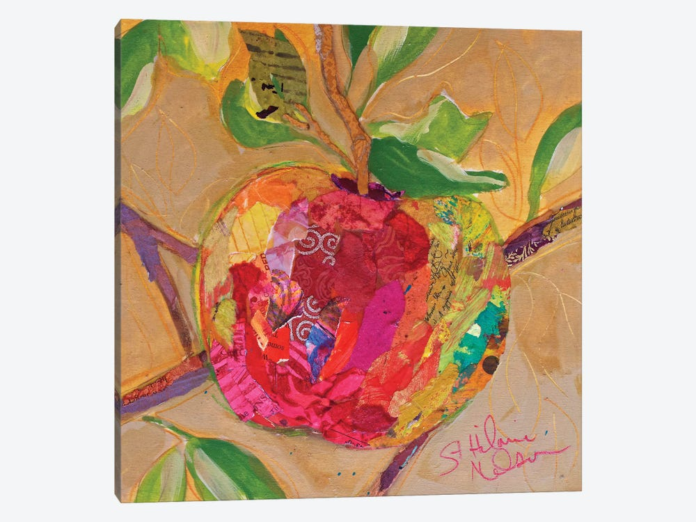 Wild Apple by Elizabeth St. Hilaire 1-piece Canvas Print