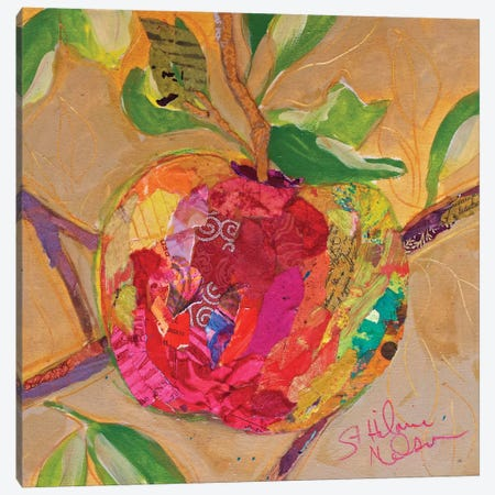 Wild Apple 3-Piece Canvas #ESH42} by Elizabeth St. Hilaire Canvas Art