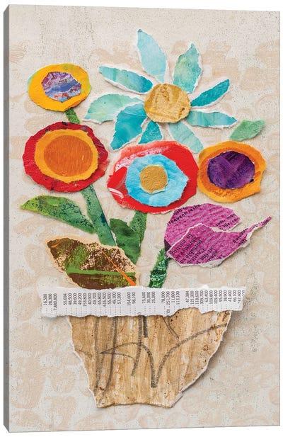 Flower Pot II Canvas Art Print
