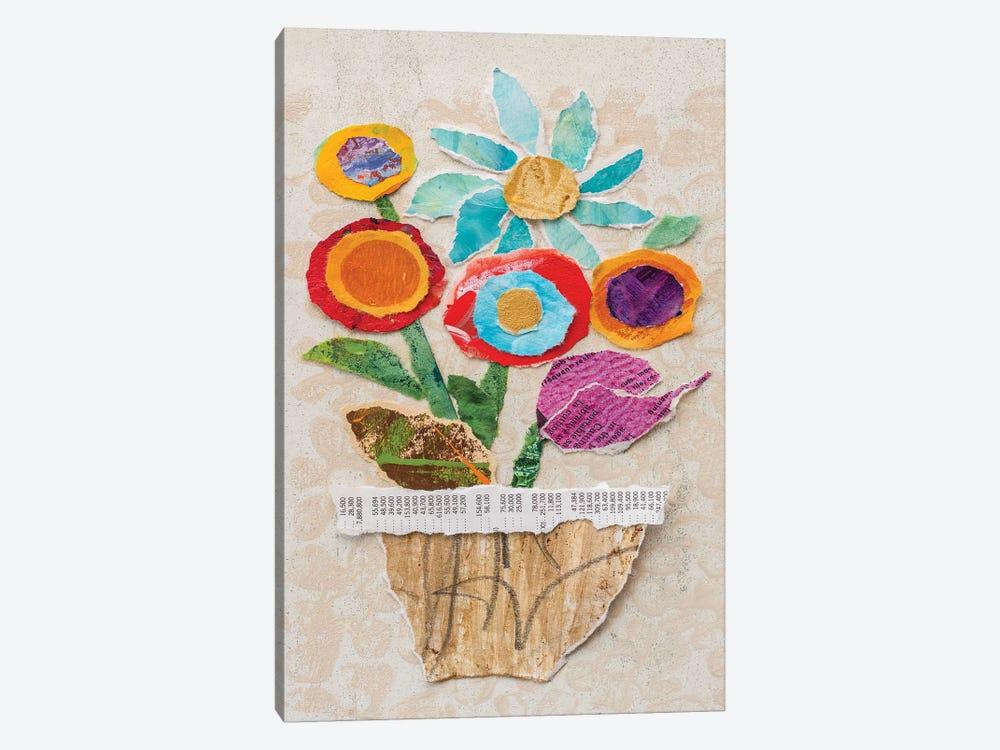 Flower Pot II by Elizabeth St. Hilaire 1-piece Canvas Print