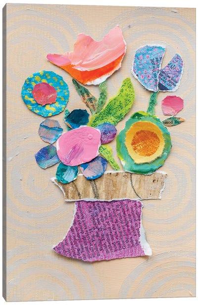 Flower Pot III Canvas Art Print