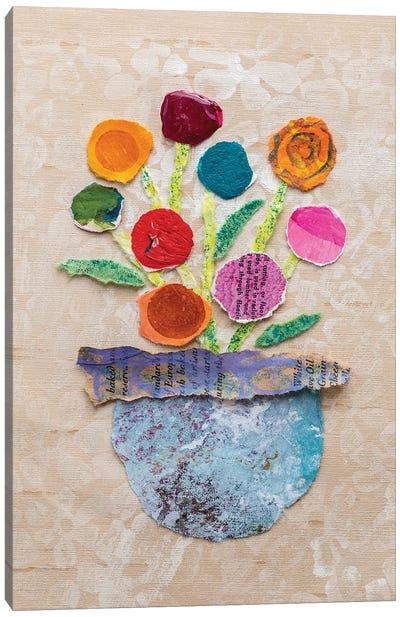 Flower Pot IV Canvas Art Print