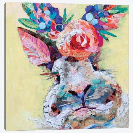 Hip Hop Floral 3-Piece Canvas #ESH47} by Elizabeth St. Hilaire Canvas Art Print