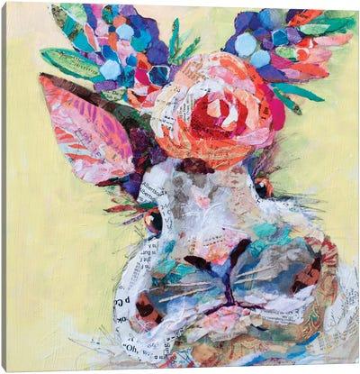 Hip Hop Floral Canvas Art Print