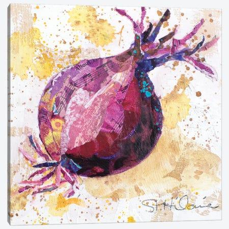 Veggie Splash II Canvas Print #ESH56} by Elizabeth St. Hilaire Canvas Wall Art