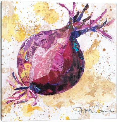 Veggie Splash II Canvas Art Print
