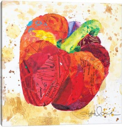 Veggie Splash IV Canvas Art Print
