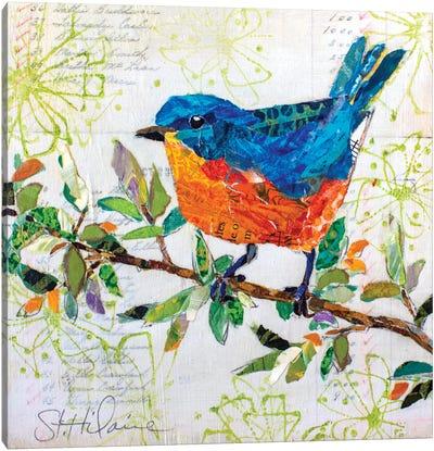 Happy Bird I Canvas Art Print