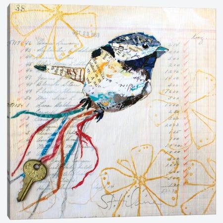 Happy Bird III Canvas Print #ESH71} by Elizabeth St. Hilaire Art Print