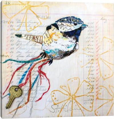 Happy Bird III Canvas Art Print