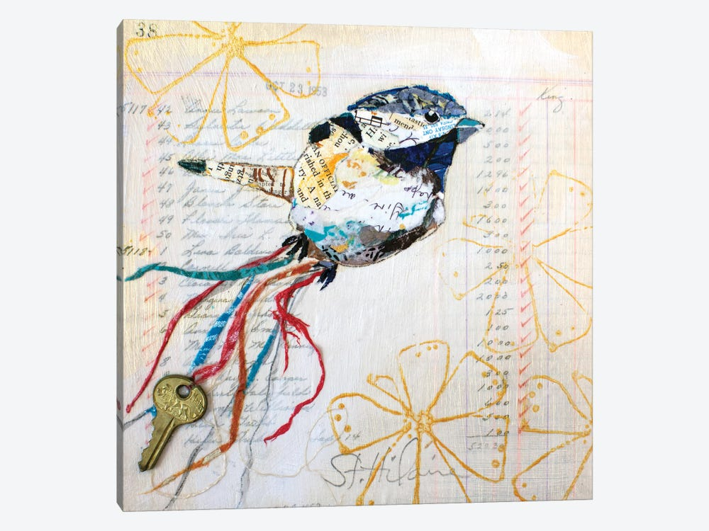 Happy Bird III by Elizabeth St. Hilaire 1-piece Canvas Print