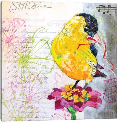 Happy Bird IV Canvas Art Print