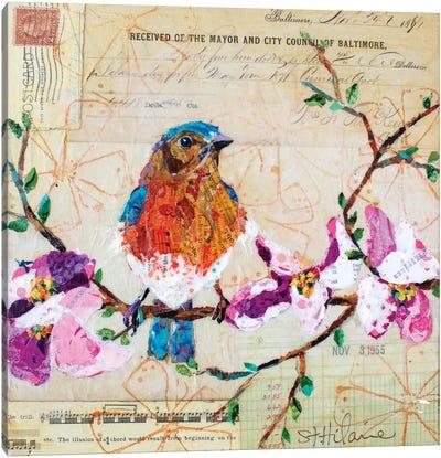 Happy Bird V Canvas Art Print