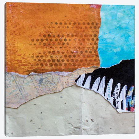 High Texture Abstract III Canvas Print #ESH78} by Elizabeth St. Hilaire Canvas Art Print