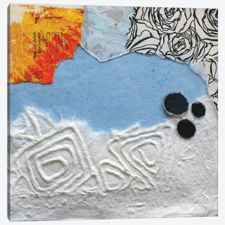 High Texture Abstract IV Canvas Print #ESH79} by Elizabeth St. Hilaire Canvas Art Print