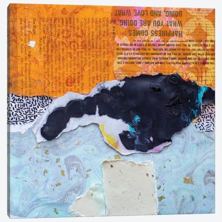 High Texture Abstract V Canvas Print #ESH80} by Elizabeth St. Hilaire Canvas Artwork