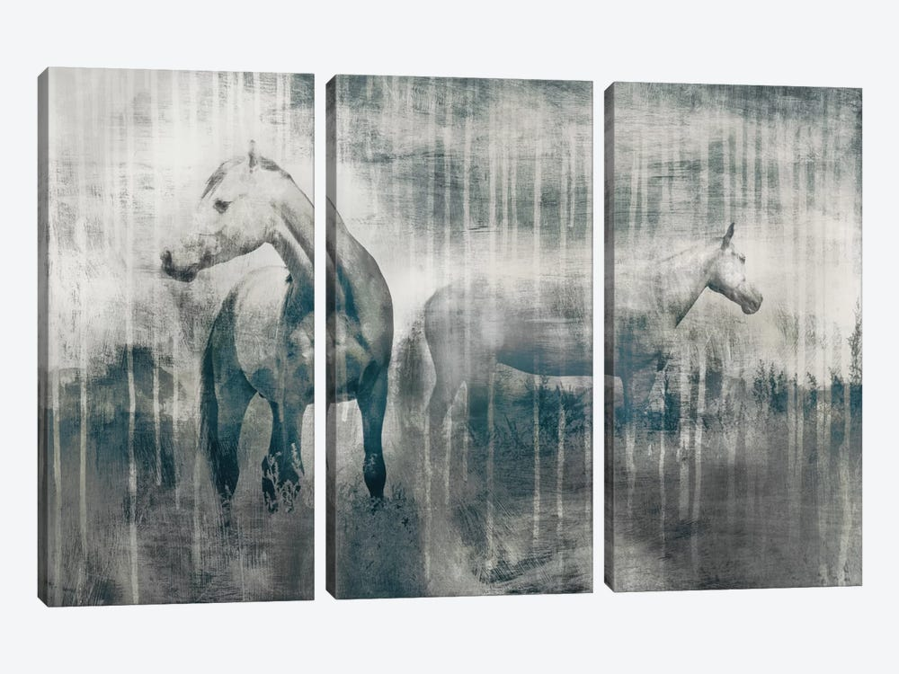 Grey Serenade by Edward Selkirk 3-piece Canvas Print