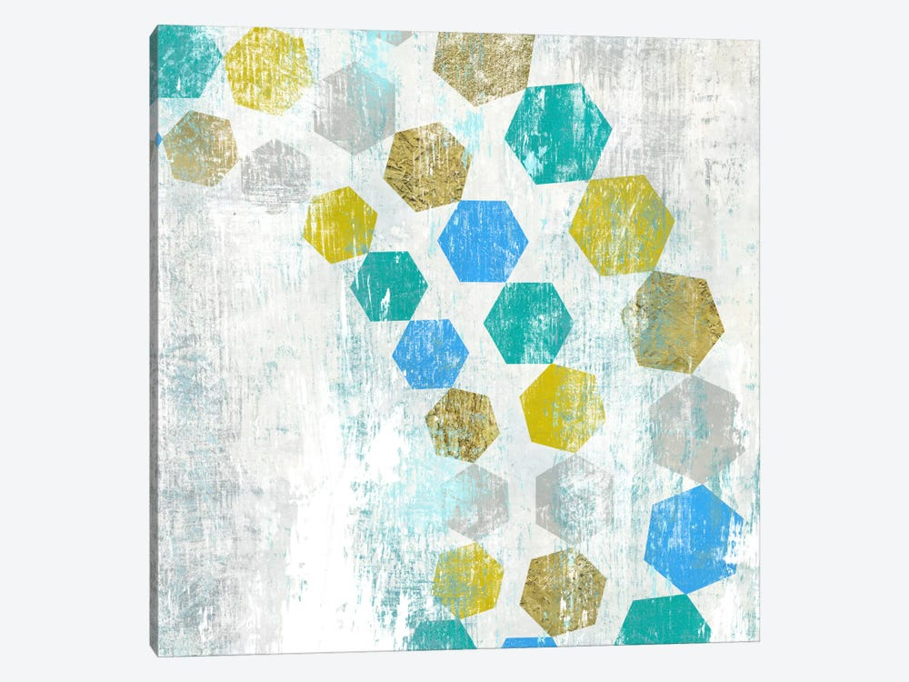 Hexagon IV by Edward Selkirk 1-piece Art Print