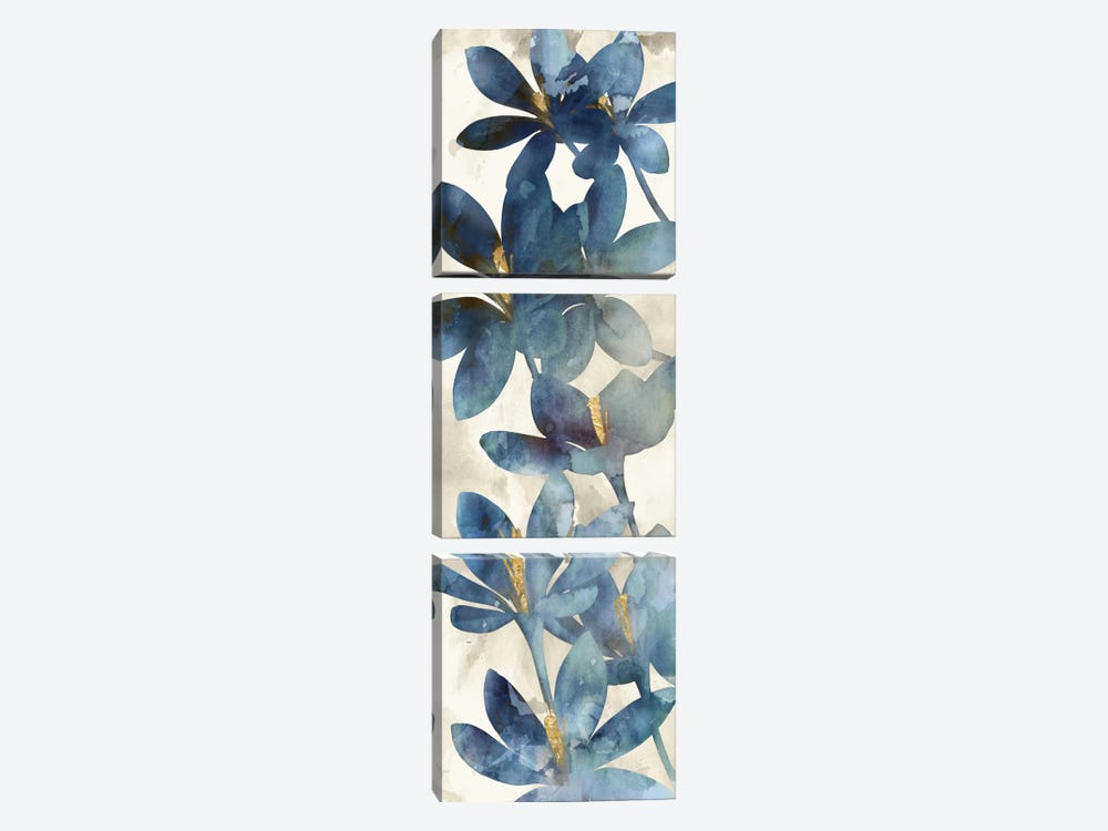 Indigo Veranda I by Edward Selkirk 3-piece Canvas Print