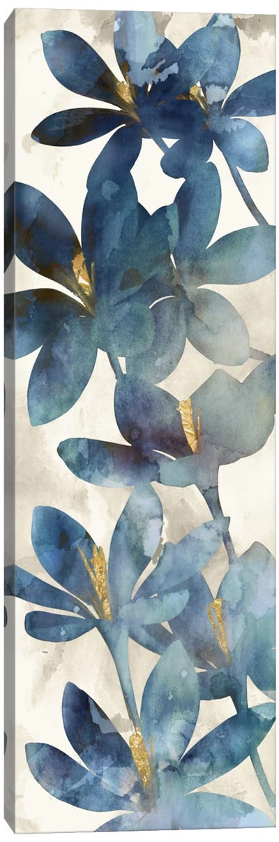 Indigo Veranda I Canvas Art Print
