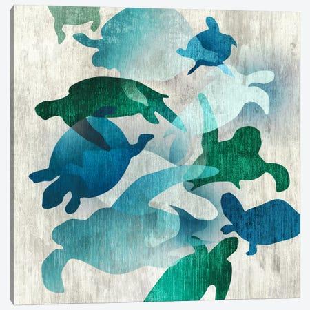 Leatherback I 3-Piece Canvas #ESK140} by Edward Selkirk Canvas Art