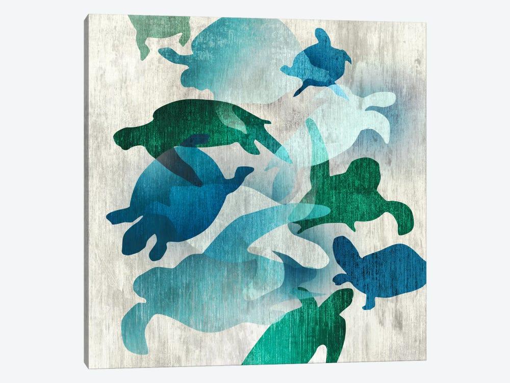 Leatherback I by Edward Selkirk 1-piece Canvas Print