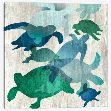 Leatherback II Canvas Print #ESK141} by Edward Selkirk Canvas Artwork