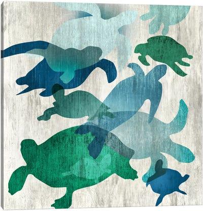 Leatherback II Canvas Art Print