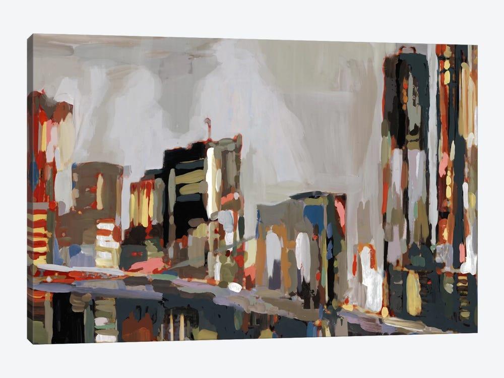 Manhattan Nights by Edward Selkirk 1-piece Canvas Wall Art