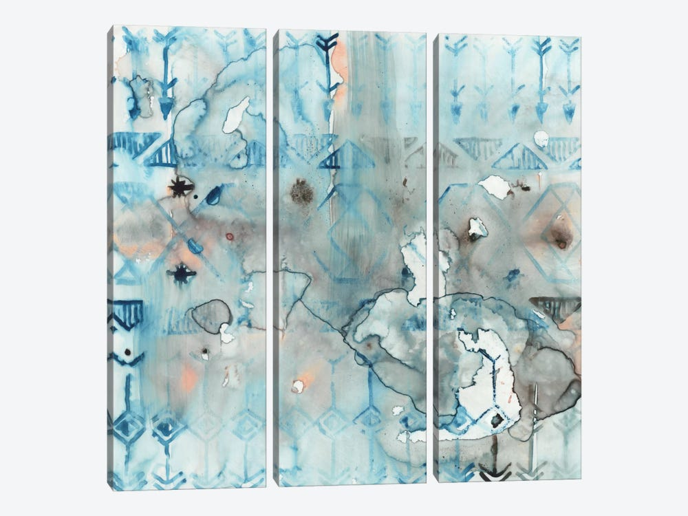 Mezzoteal I by Edward Selkirk 3-piece Canvas Artwork