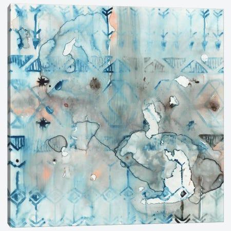 Mezzoteal I Canvas Print #ESK163} by Edward Selkirk Canvas Art