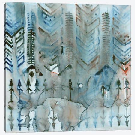 Mezzoteal II Canvas Print #ESK164} by Edward Selkirk Canvas Art Print