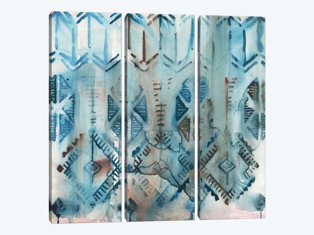Mezzoteal III by Edward Selkirk 3-piece Canvas Artwork