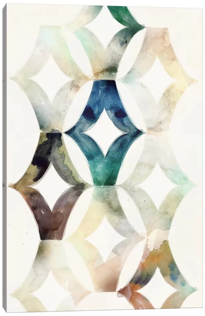 Morocgraphic I Canvas Art Print