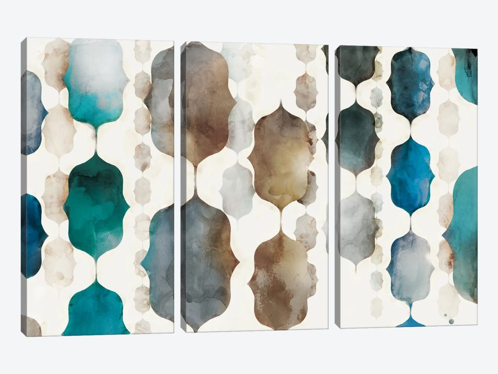 Morrocan Beads by Edward Selkirk 3-piece Art Print