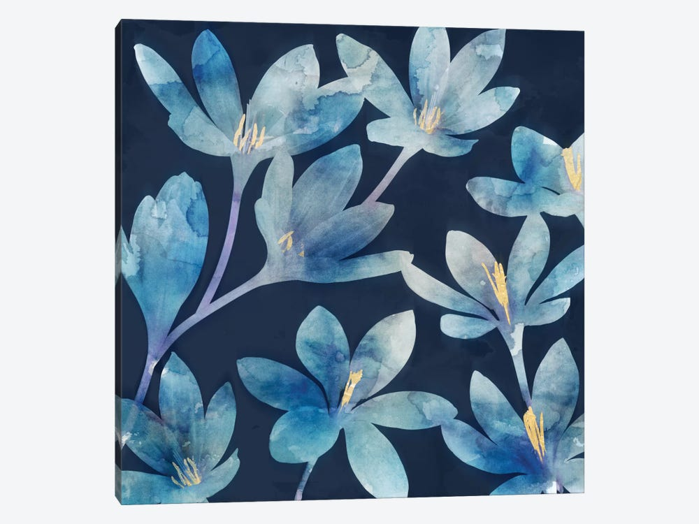 Mystique Blue I by Edward Selkirk 1-piece Canvas Art Print