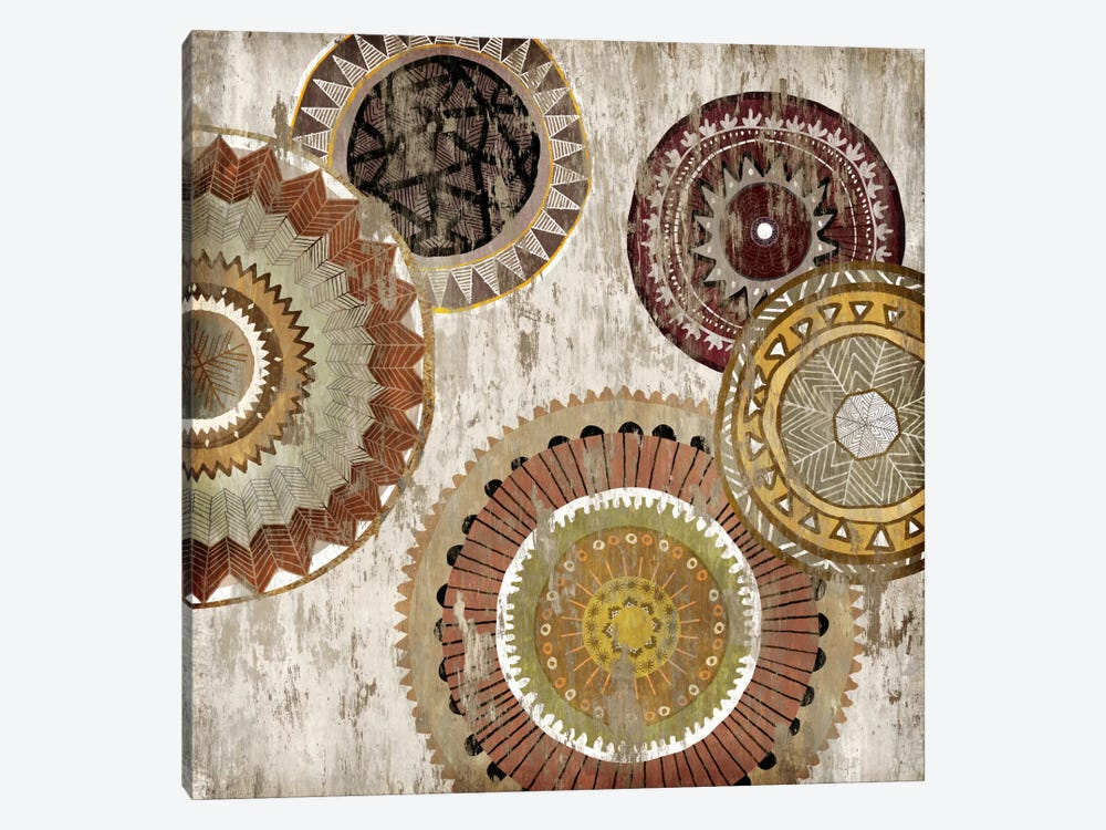 Native Circle II by Edward Selkirk 1-piece Canvas Artwork