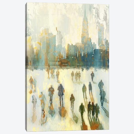NY Shadows I Canvas Print #ESK191} by Edward Selkirk Canvas Print